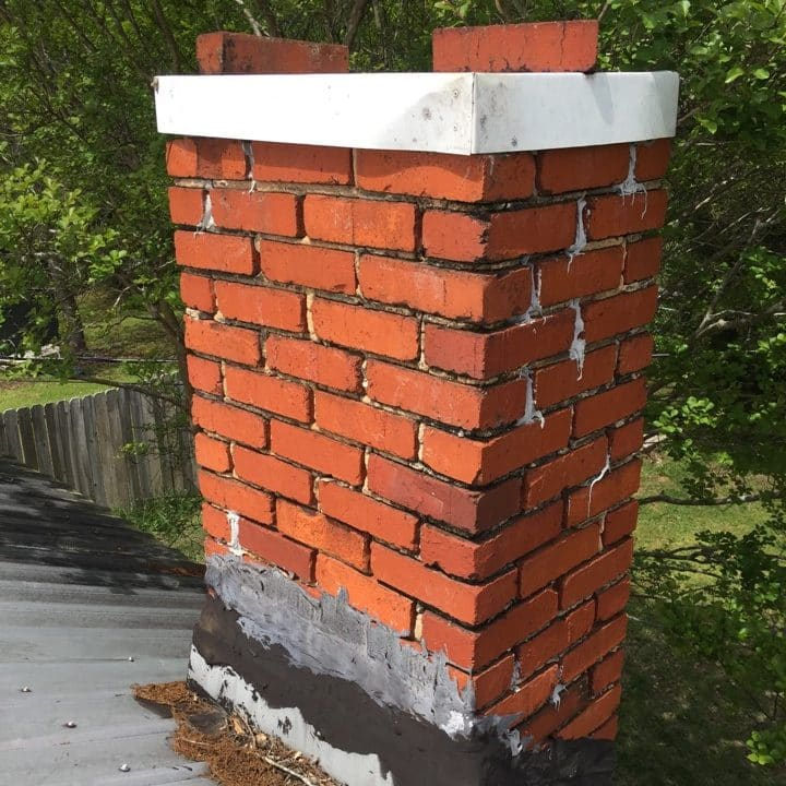 chimney in alabaster