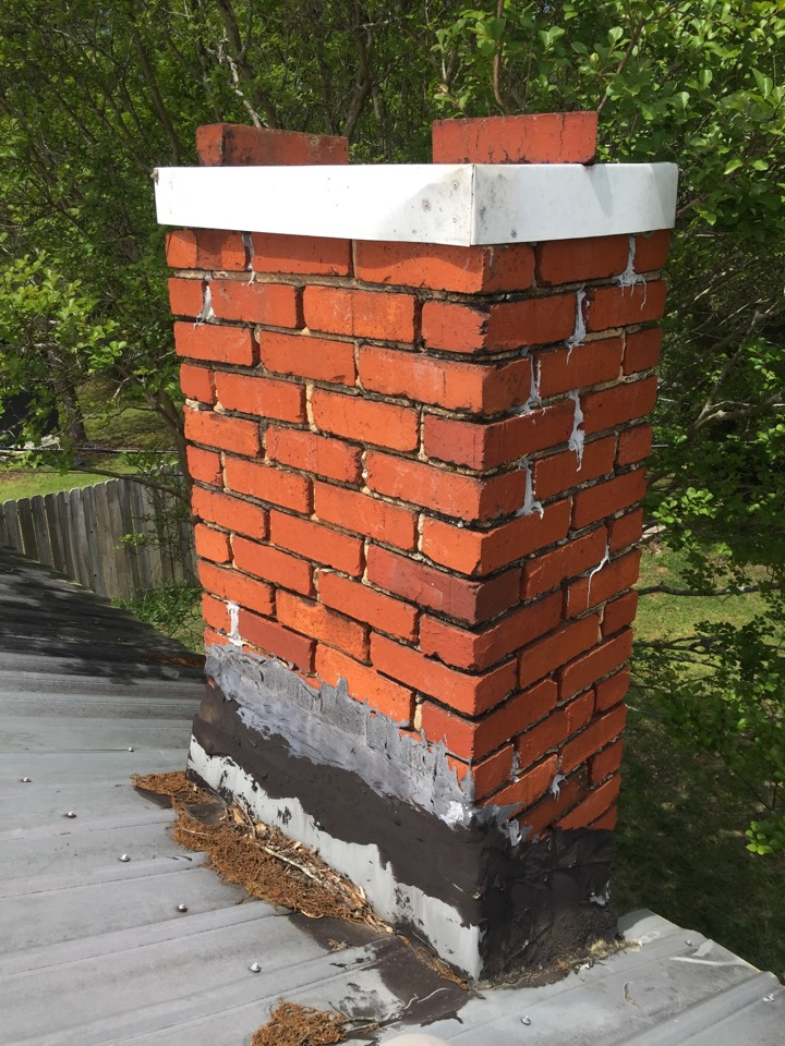 chimney in alabaster