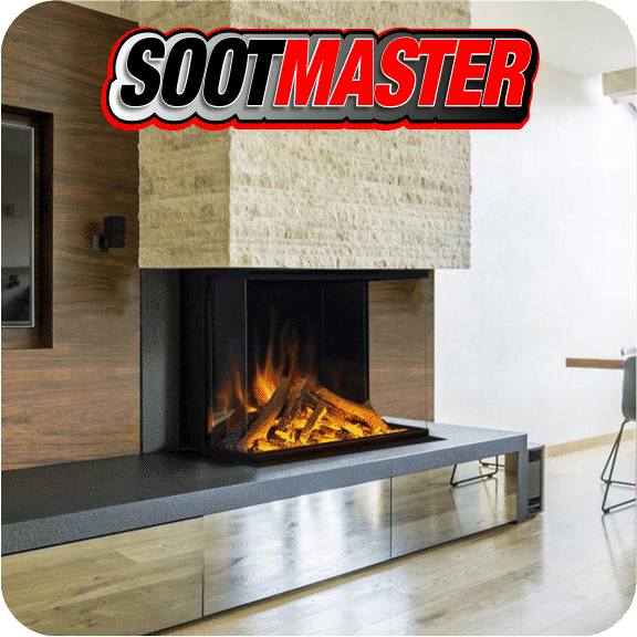 sootmaster fireplace installation and facade repair