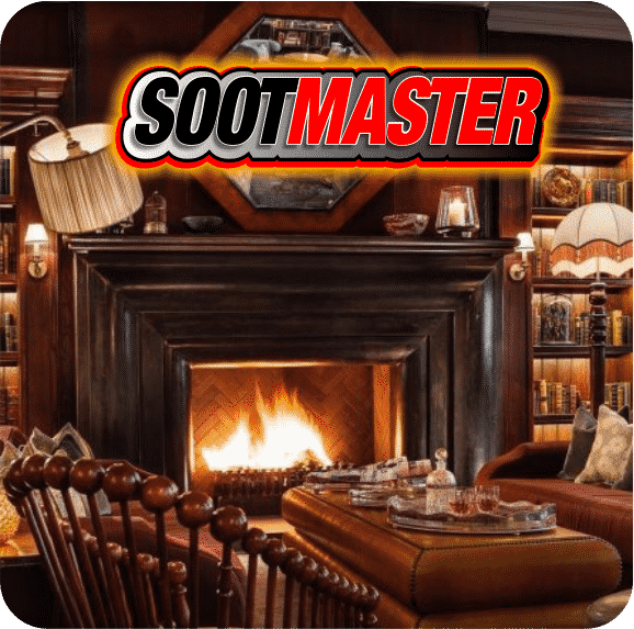 Fireplace After Sootmaster Repair