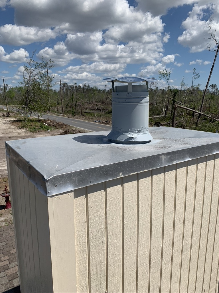 Kissimmee chimney cap repair