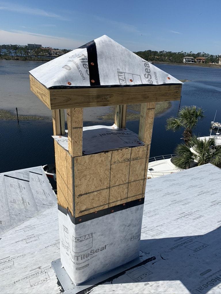 Chimney cap repair in Kissimmee