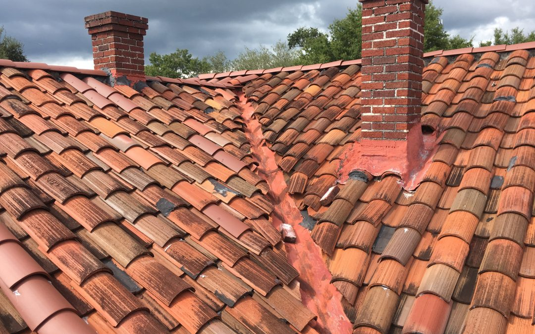 slanted Rooftops after a chimney repair in Fort Walton Beach (FWB) Sootmaster