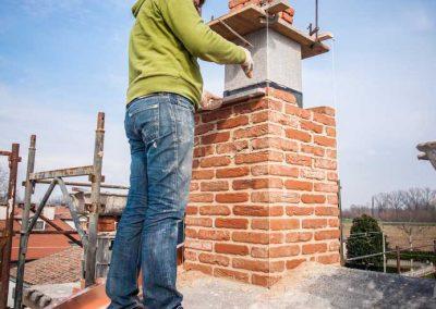 chimney installation