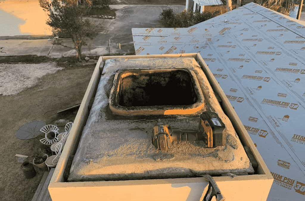 monticello Florida chimney flue top AdvancedFireplaceTechnicians AFT after hurricane sally 2020