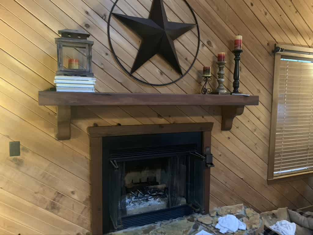 Fireplace inspection in Lafayette home