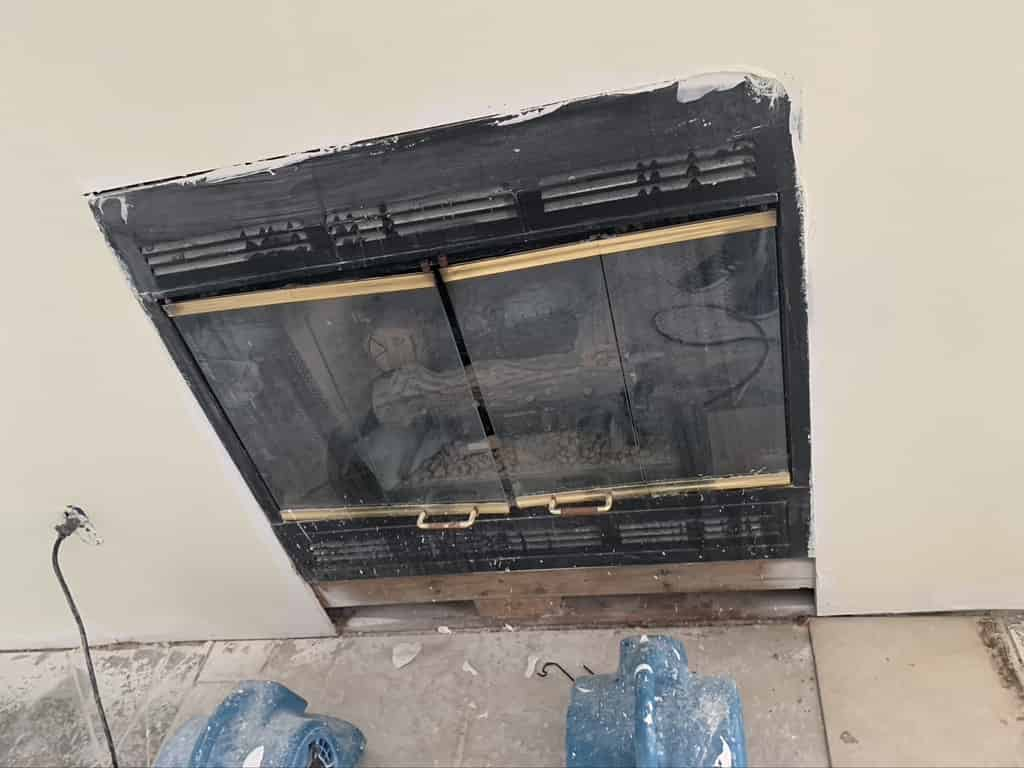Prefabricated fireplace Sootmaster New Orleans