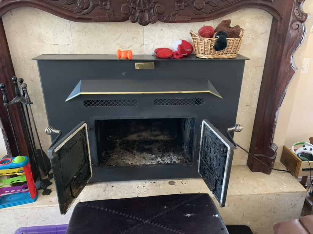 Fireplace Installation in Hammond by the Sootmaster