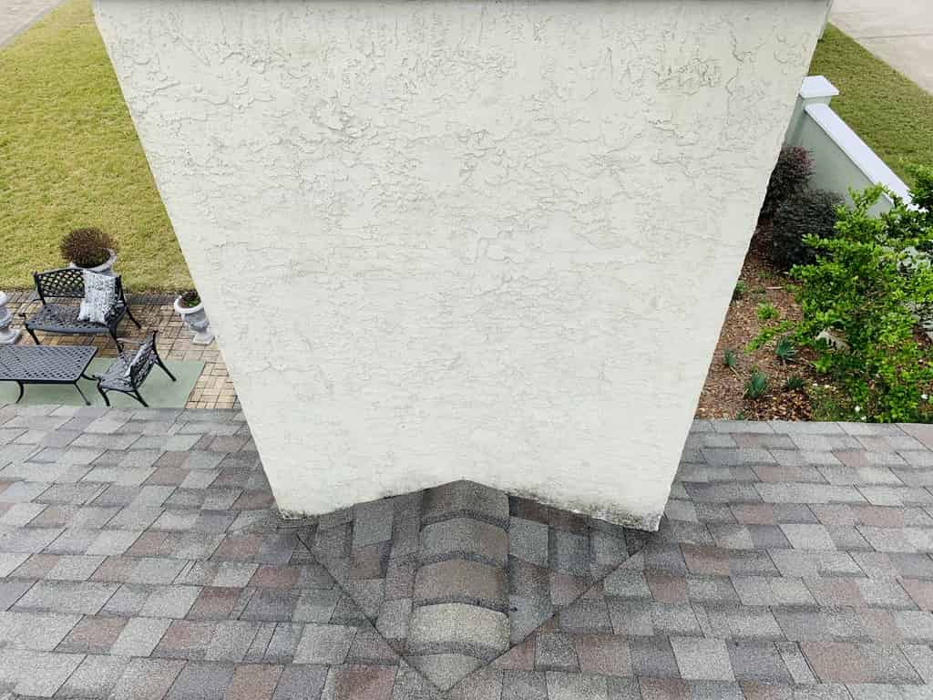 Marianna Florida, chimney replacement after Hurricane Sally