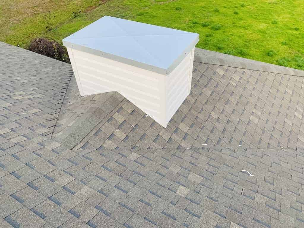 Chimney roof