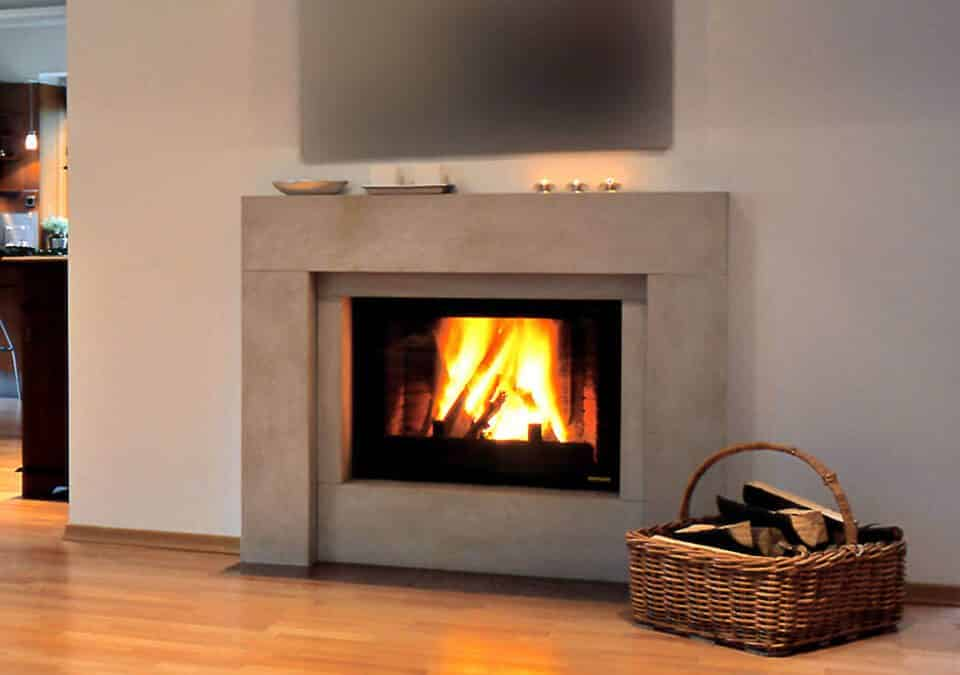 Chimney Sweep darien Georgia lit fireplace