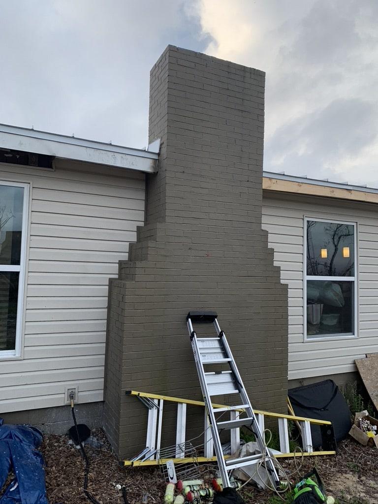 Brick Chimney in Bay Minette