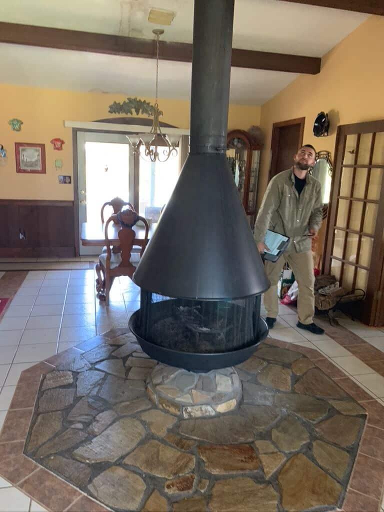 Chimney Inspection Theodore