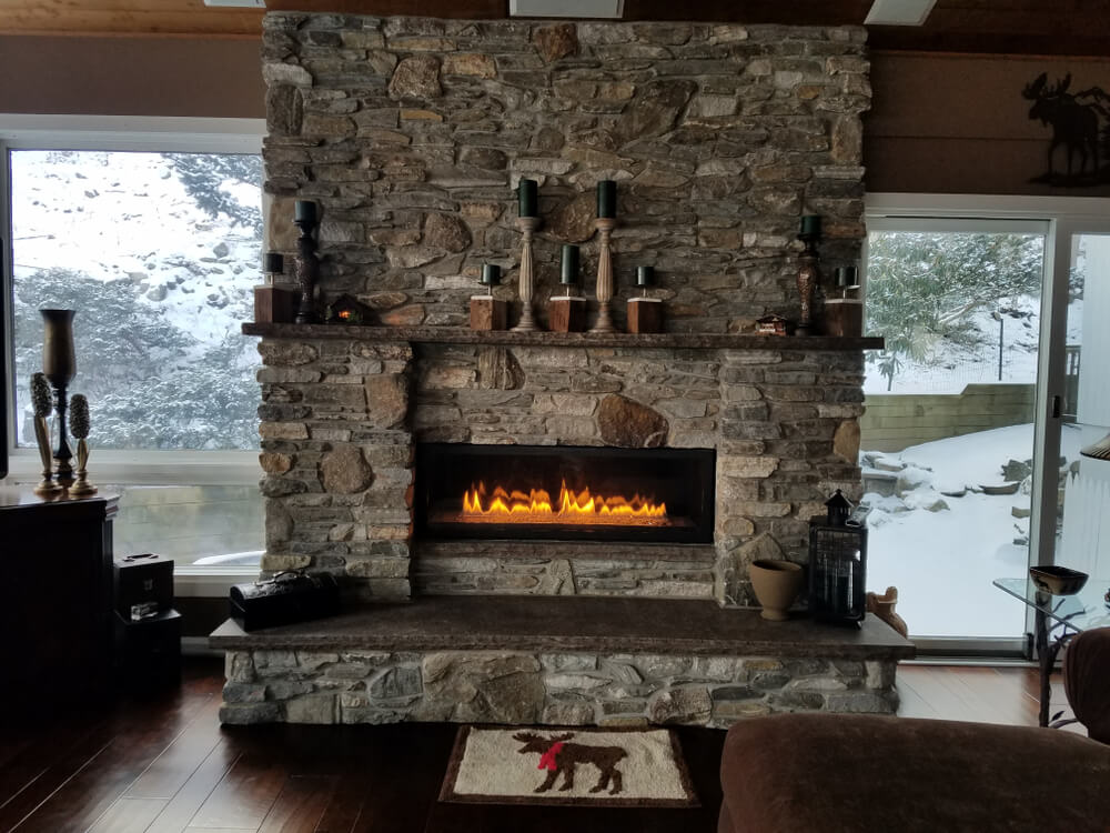 Fireplace installation and sweep in Macon