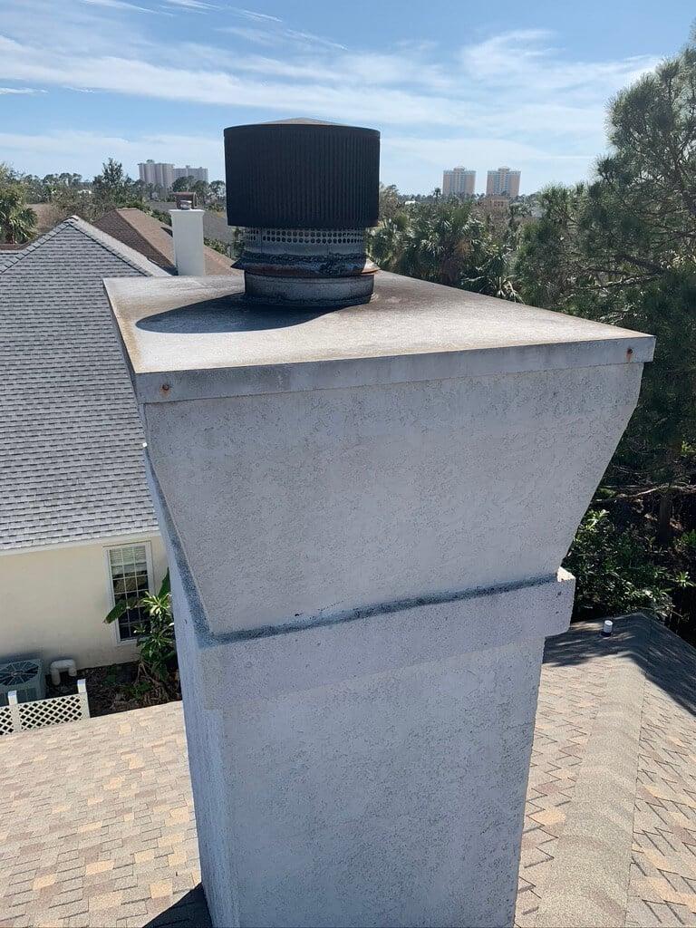 Stucco Chimney Gadsden, AL