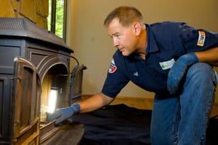 Chimney inspection/fire
