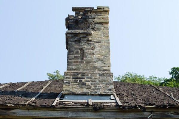 smoldering chimney