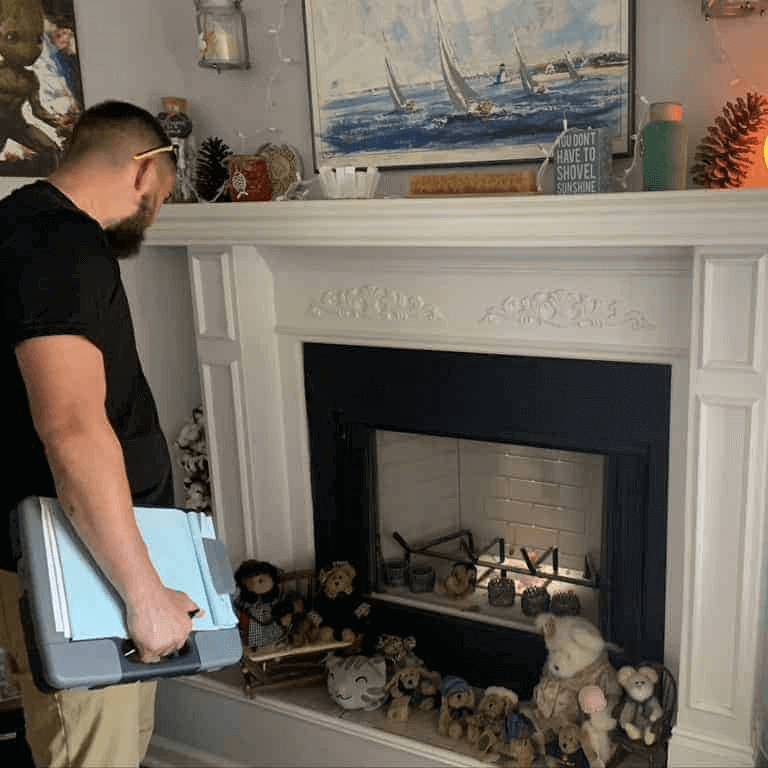 Sootmaster Chimney Sweep Inspection in Anderson